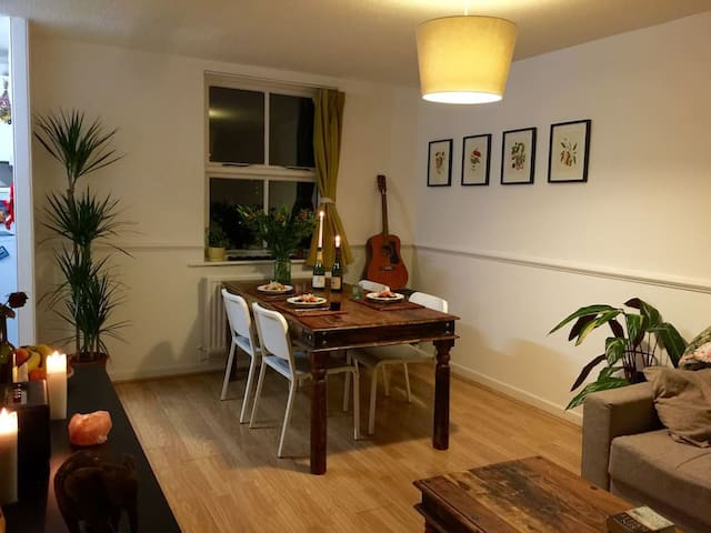 Spacious room in a lovely appartment in Hackney! - Londra - Appartamento