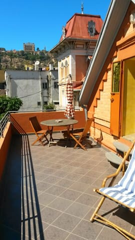Beautiful attic studio with terrace - Antananarivo Atsimondrano