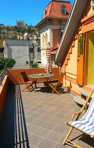 Beautiful attic studio with terrace - Antananarivo Atsimondrano - 公寓