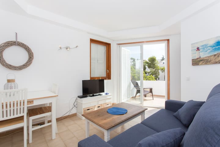 Apartment with incredible views - Cala Ferrera - Daire