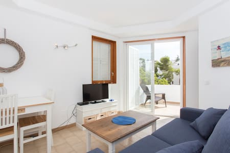 Apartment with beach sea-views - Cala Ferrera