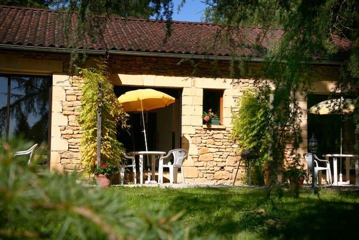 Gites Sarlat  centre dans grand parc arboré - Sarlat-la-Canéda - Apartamento