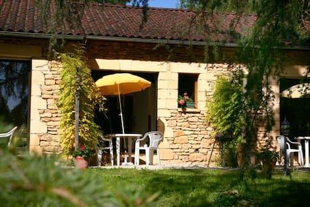 Gites Sarlat  centre dans grand parc arboré - Sarlat-la-Canéda