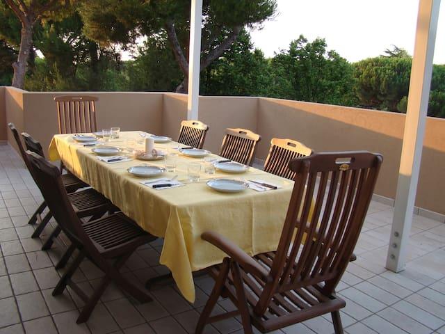 Fantastico Attico a Riccione vicino via Ceccarini - Riccione - Apartament
