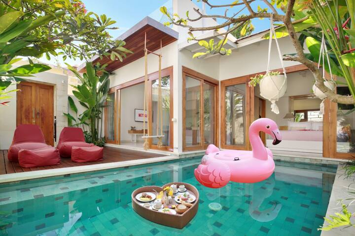Monthly Rental 1 BDR private pool, Luxury & clean