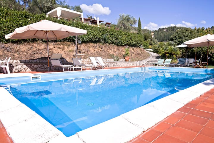 I Limoni. Nice, relaxing with pool - Camaiore - Apartemen