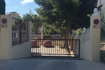 Entrada aparcamiento privado