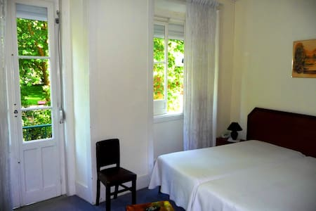 In front of Park D. Carlos DBL Room/Triple Room - Caldas da Rainha - Bed & Breakfast