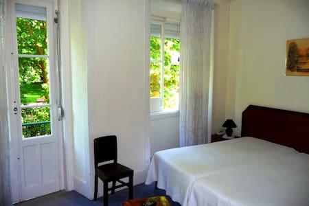 In front of Park D. Carlos DBL Room/Triple Room - Caldas da Rainha