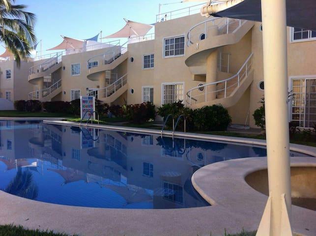 Departamento en zona diamante - Acapulco, Guerrero, MX - Lägenhet