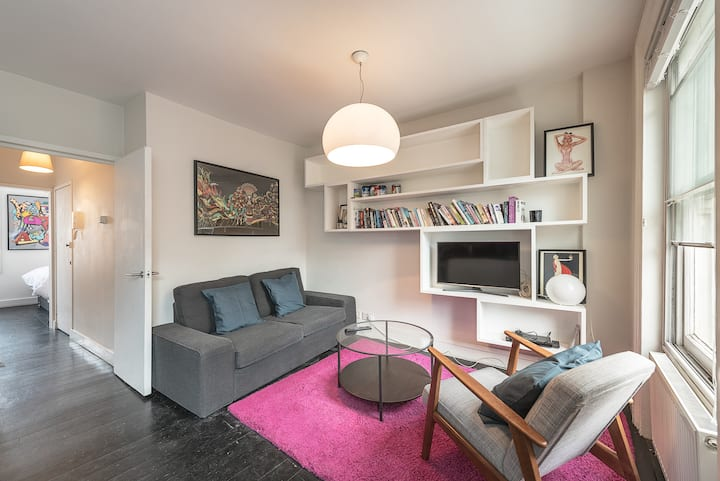 Bright flat in the Heart of Angel, Islington