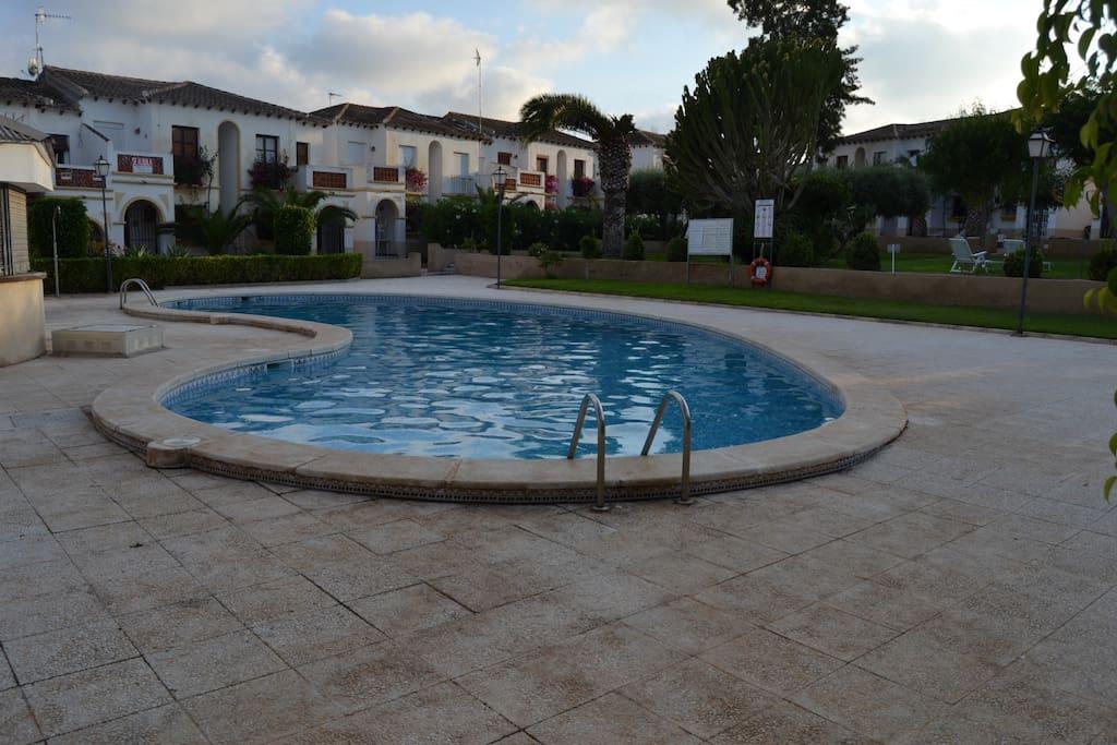 R Sidence Piscine Au Sud D 39 Alicante Condominiums For Rent In San Miguel De Salinas Comunidad