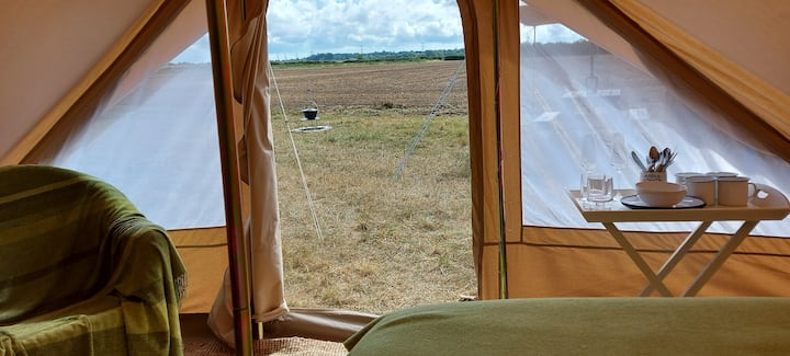 Exclusive camping with a touch of glamping