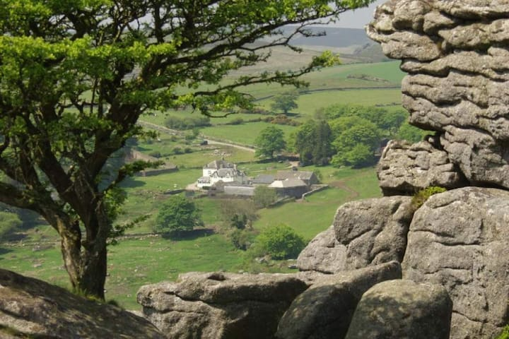 Holiday Cottage on Dartmoor - Nr Widecombe In The Moor - Hus