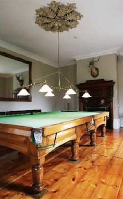 Billiards room c1880