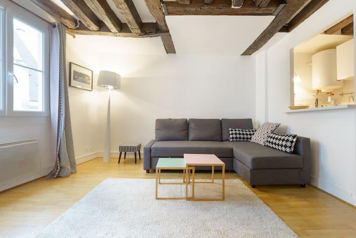 Rue Xavier Privas, Latin Quarter - private flat - Paris - Lägenhet