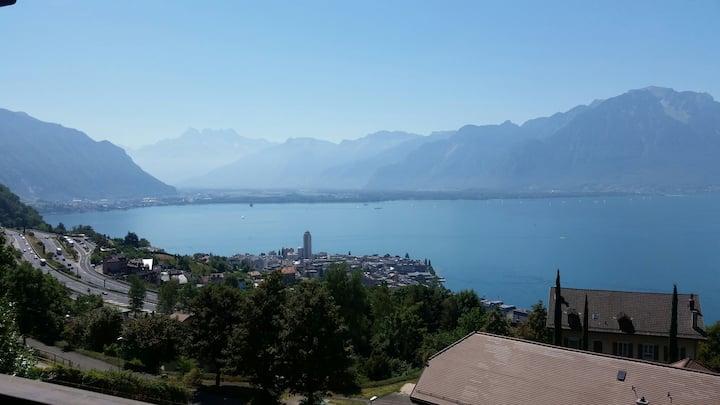 Swiss Chalet in Chernex, Montreux