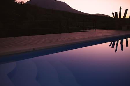 Casa rural con piscina y preciosas vistas