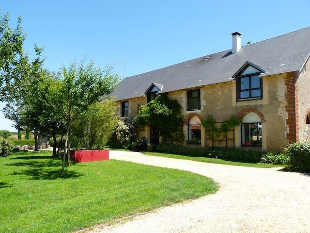 Chambres d'hôtes Angles sur anglin piscine et spa - Angles-sur-l'Anglin - Bed & Breakfast
