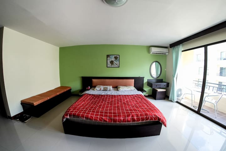 Nice Studio with Pool in great area - Chiang Mai - Leilighet