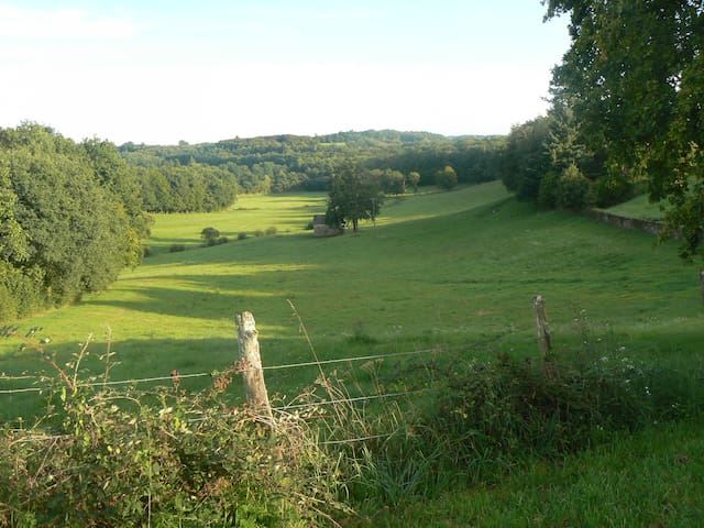 Correze B&B Monedieres; lovely view - Le Lonzac - Bed & Breakfast