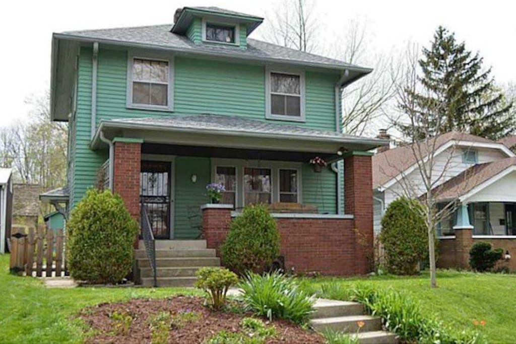 Historic Home Near Downtown Indy Houses For Rent In Indianapolis Indiana United States