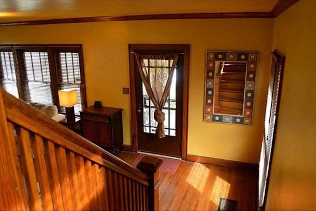 2 story home with lots of woodwork