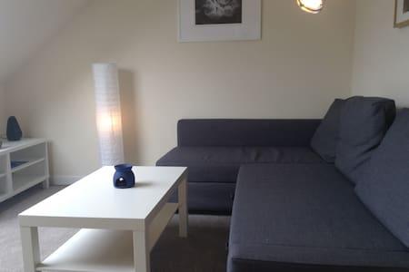 Bright top floor flat in Leith - Эдинбург