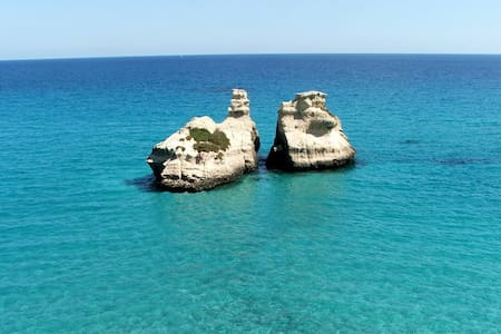 Holidays close to the sea of the Salento (Apulia) - Maison de ville