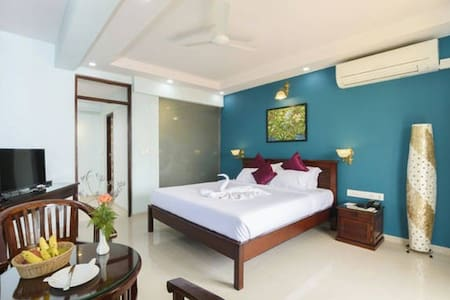Lavish Sea View Room @ Majorda Beach - Majorda