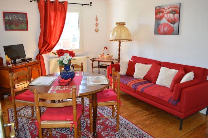 Appartement au Petit Bonheur - Thannenkirch - Apartemen