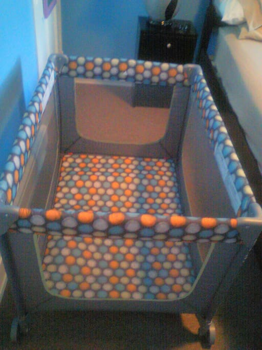 If you have a baby I have the bed for them