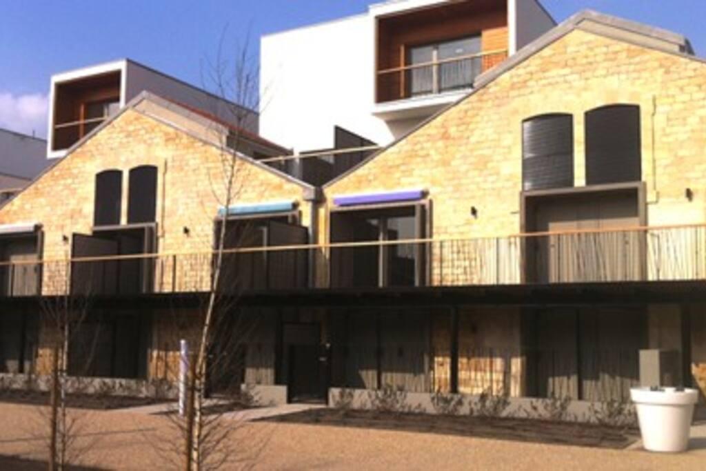Appart t2 de 44m2 bordeaux baccalan appartements louer for Louer t2 bordeaux