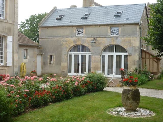 La Galinette, maison de charme - Sannerville - Casa
