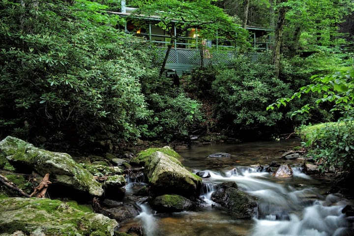 Troutsong: Creekside Paradise Found - Boone - House