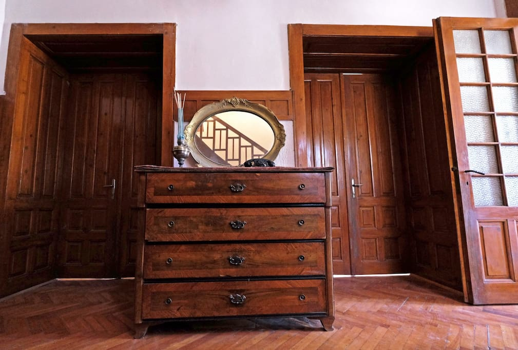 Historic furniture for the atmosphere