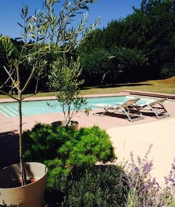 Chambre dans belle villa oyonnax - Groissiat - Casa