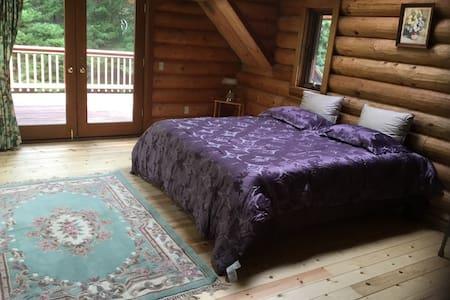 The stunning log  home -A - Crescent City - Mökki