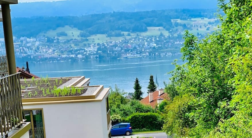 Zurich (CH) - Modern 2.5 room flat with jacuzzi & lake view