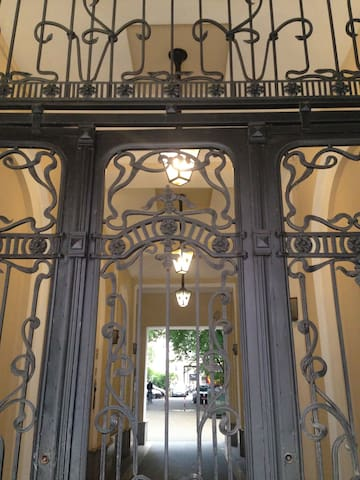 The buliding gate