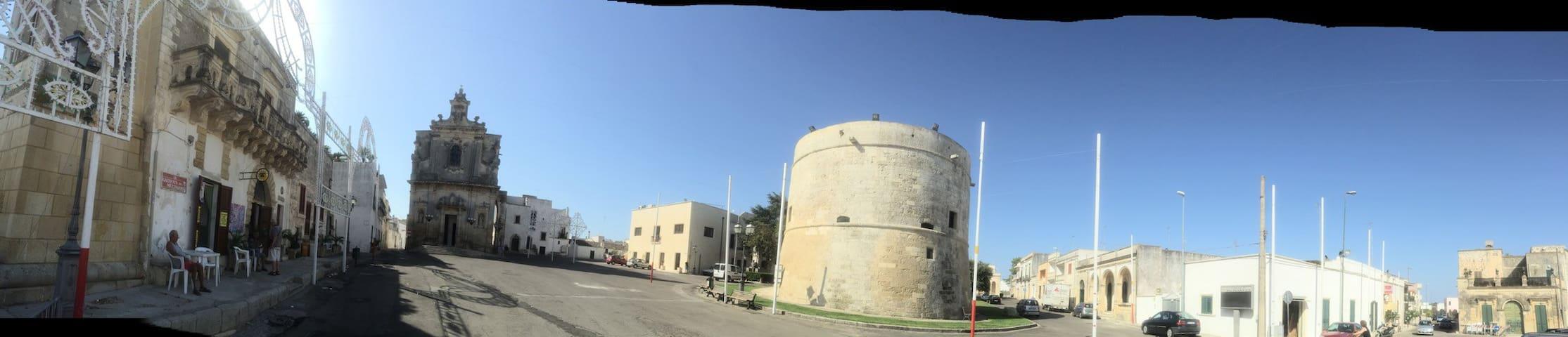 Palmariggi Castle - a nice short walking distance.