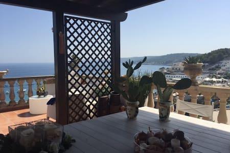 Appartamento con terrazze sul mare - Huoneisto