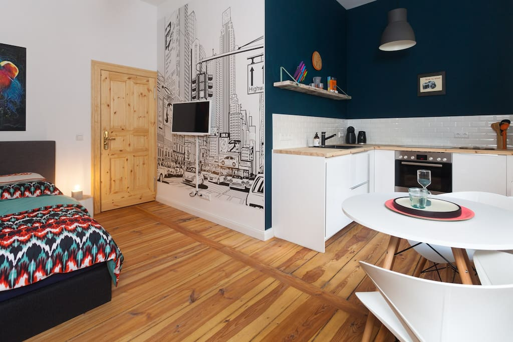 Design apartment sch neberg room city appartements for Location appartement design