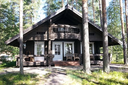 Log cabin for 6 ppl. Lake saimaa - Savonlinna