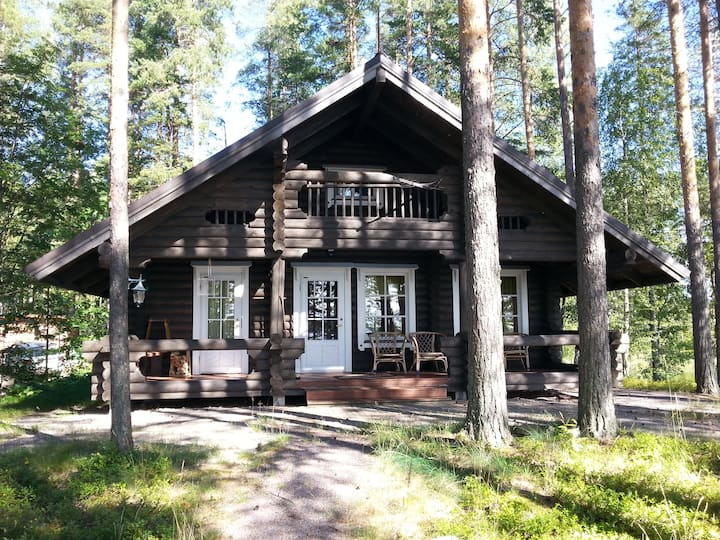 Log cabin for 6 ppl. Lake saimaa
