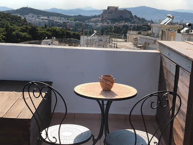 PERFECT LOFT WITH STUNNING ACROPOLIS VIEW!!!