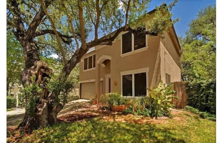 Bright spacious home in South Austin.