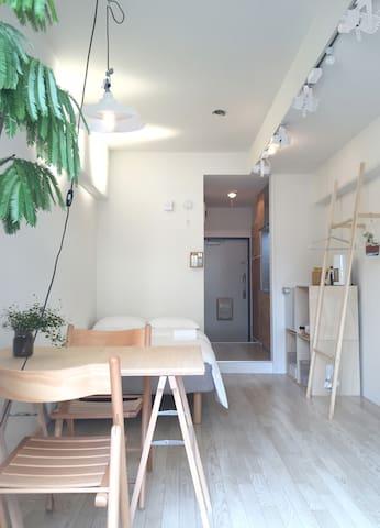 Shibuya,Ebisu,Daikanyama 7mins - 渋谷区 - Appartement