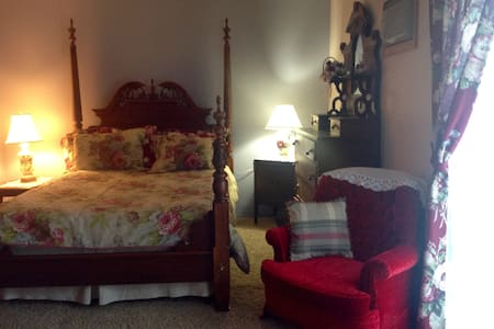 Kildare room at Betsie Valley B&B, 1 of 3 rooms. - Interlochen