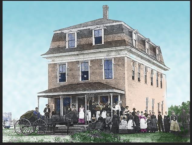 Around 1880. Sarah Jane Staples- Clothing Factory